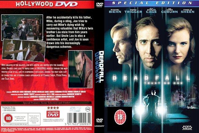 dvd cover Deadfall_1993 Dvd Cover