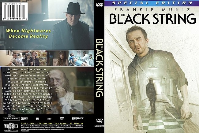 dvd cover The Black String 2018 Dvd Cover