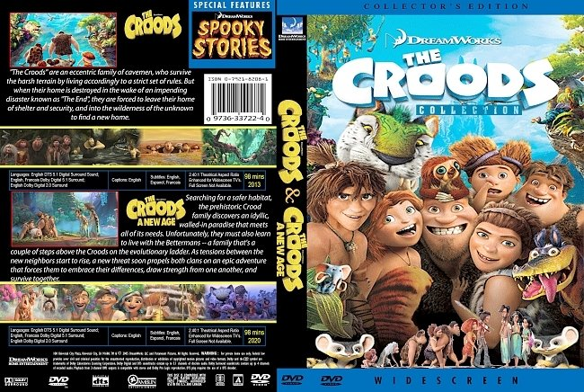 dvd cover The Croods Collection 2020 Dvd Cover