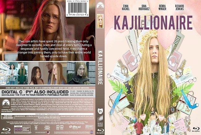 dvd cover Kajillionaire 2020 Dvd Cover