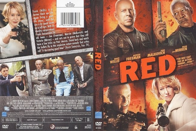 dvd cover Red 2010 Dvd Cover