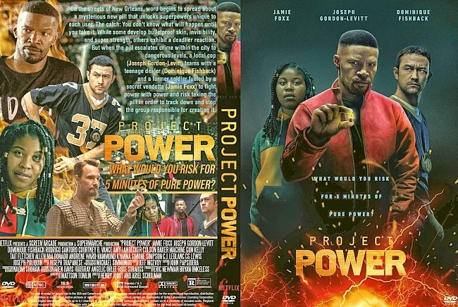 dvd cover Project Power 2020 Dvd Cover