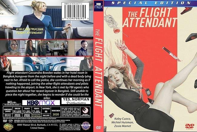 dvd cover The Flight Attendant 2020 Dvd Cover
