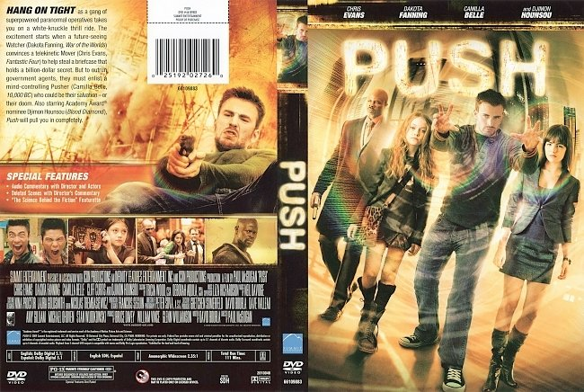 dvd cover Push 2009 Dvd Cover
