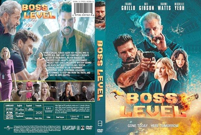 dvd cover Boss Level 2020 Dvd Cover