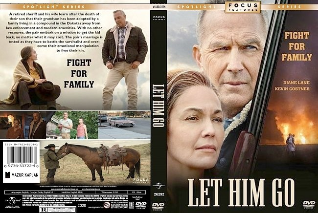 dvd cover Let Him Go 2020 Dvd Cover