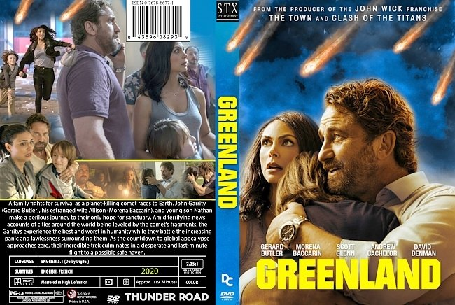 dvd cover Greenland 2020 Dvd Cover