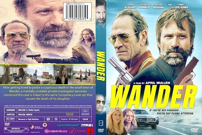 dvd cover Wander 2020 Dvd Cover