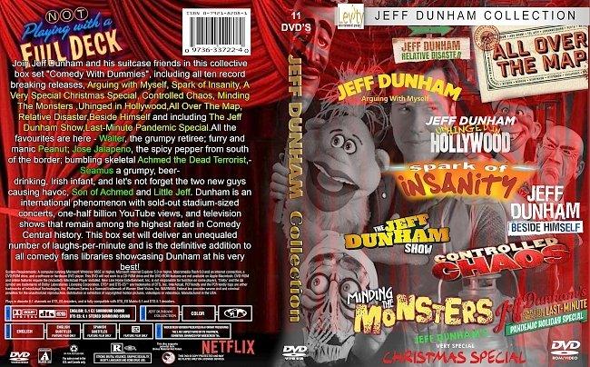 dvd cover Jeff Dunham DVD Collection 2020 Dvd Cover