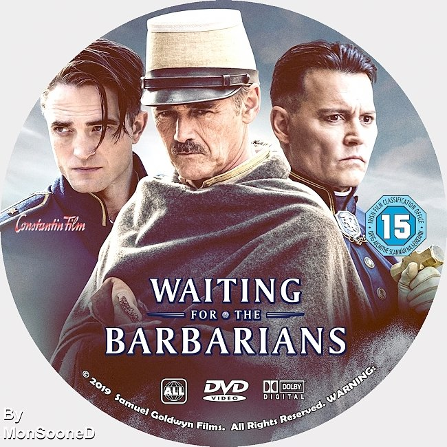 dvd cover Waiting For The Barbarians 2019 Dvd Disc Dvd Cover