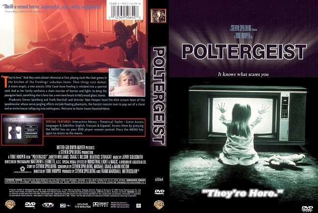 dvd cover Poltergeist 1982 Dvd Cover