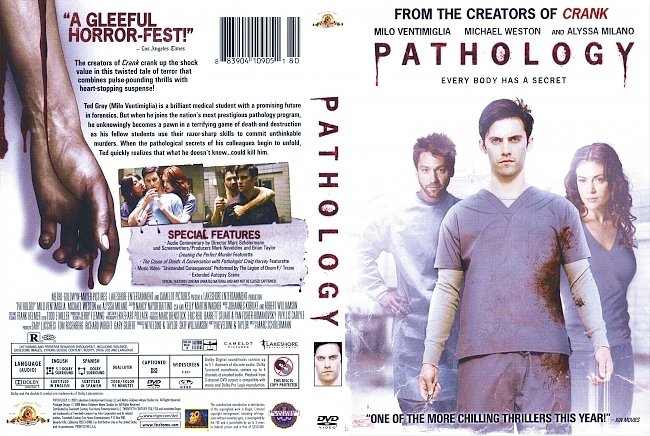 dvd cover Pathology 2008 Dvd Cover