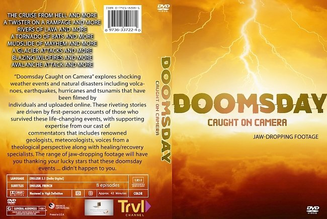 dvd cover Doomsday Caught On Camera 2020 Dvd Cover