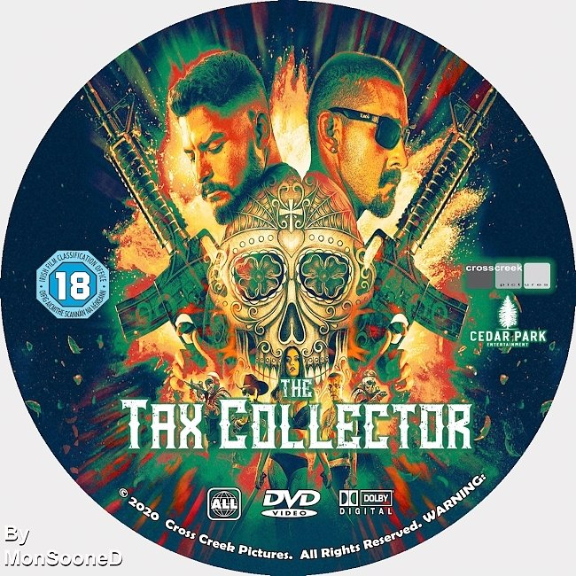 dvd cover The Tax Collector 2020 Dvd Disc Dvd Cover
