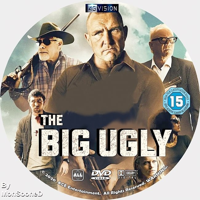 dvd cover The Big Ugly 2020 Dvd Disc Dvd Cover