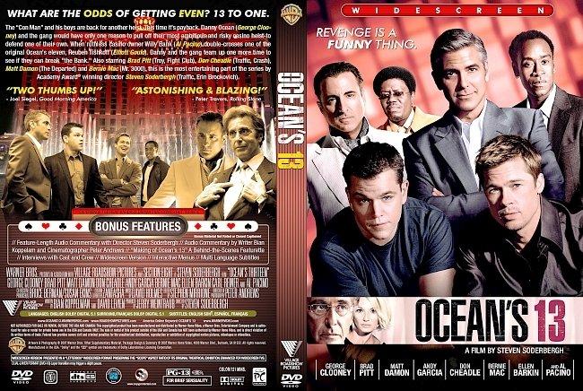 dvd cover Oceans 13 2007 Dvd Cover