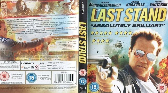 dvd cover The Last Stand 2013 Dvd Cover