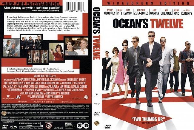 dvd cover Oceans 12 2004 Dvd Cover