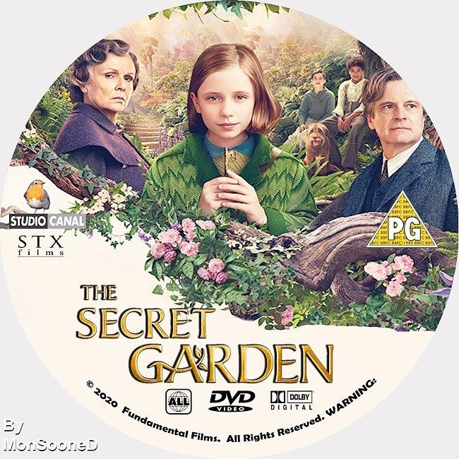 dvd cover The Secret Garden 2020 Dvd Disc Dvd Cover