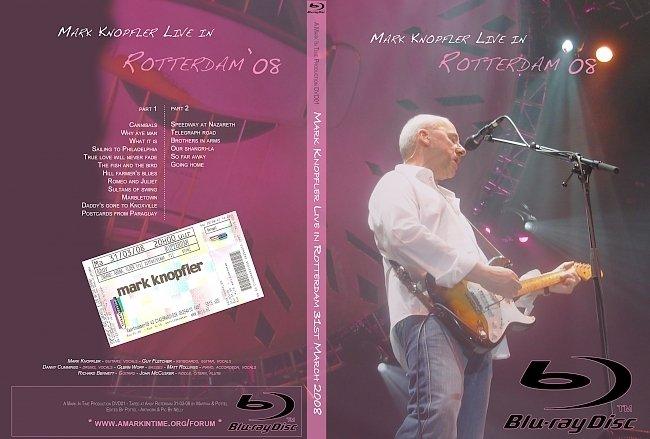 dvd cover Mark Knopfler - Live In Rotterdam 2008 2010 Dvd Cover