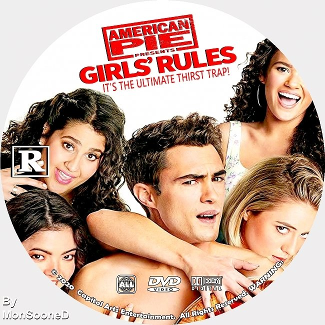 dvd cover American Pie Presents Girls Rules 2020 Dvd Disc Dvd Cover