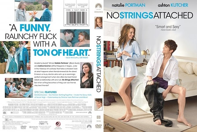 dvd cover No Strings Attached 2011 Dvd Cover