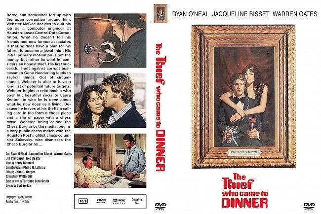 dvd cover Thief Who Came To Dinner, The 1973 Dvd Cover