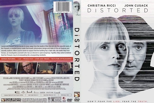 dvd cover Distorted 2018 R1 Dvd Cover