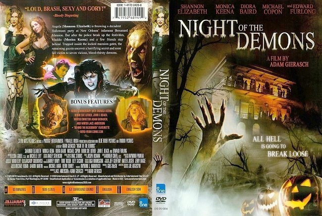 dvd cover Night Of The Demons 2009 Dvd Cover
