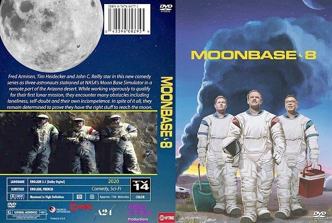 dvd cover Moonbase 8 2020 Dvd Cover