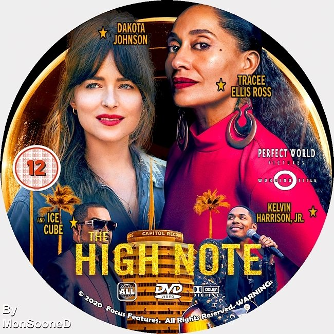 dvd cover The High Note 2020 Dvd Disc Dvd Cover