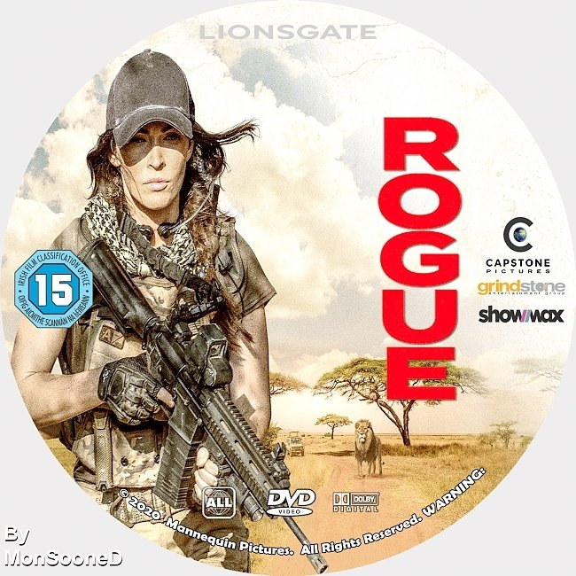 dvd cover Rogue 2020 Dvd Disc Dvd Cover