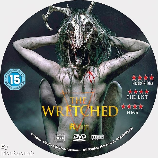 dvd cover The Wretched 2019 Dvd Disc Dvd Cover