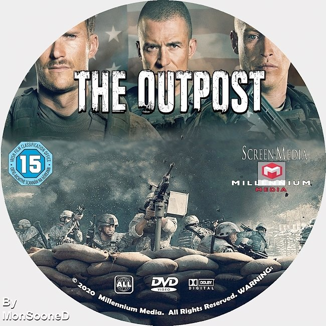 dvd cover The Outpost 2020 Dvd Disc Dvd Cover