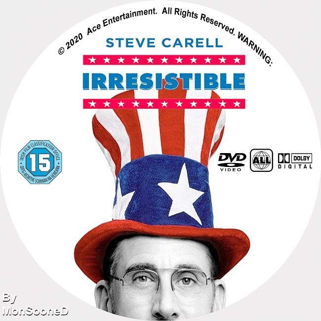 dvd cover Irresistible 2020 Dvd Disc Dvd Cover