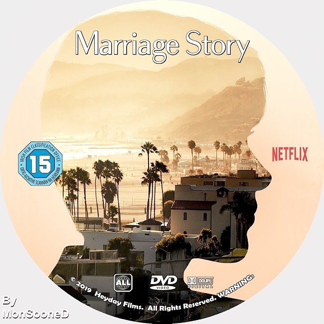 dvd cover Marriage Story 2019 Dvd Disc Dvd Cover