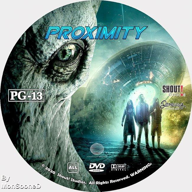 dvd cover Proximity 2020 Dvd Disc Dvd Cover