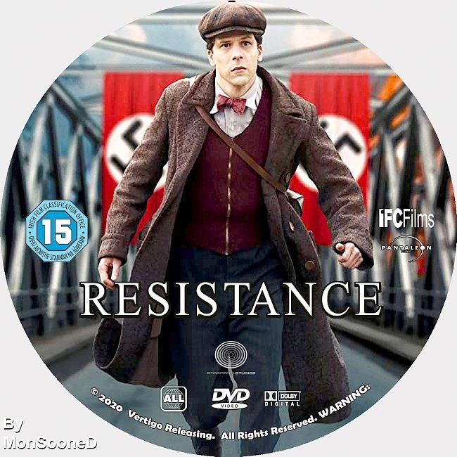 dvd cover Resistance 2020 Dvd Disc Dvd Cover