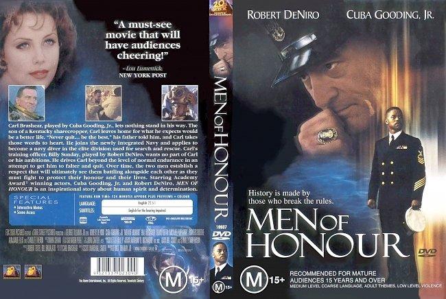 dvd cover Men Of Honour 2000 Dvd Cover