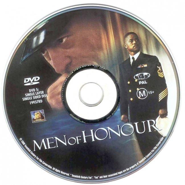 dvd cover Men Of Honour 2000 Disc Label Dvd Cover