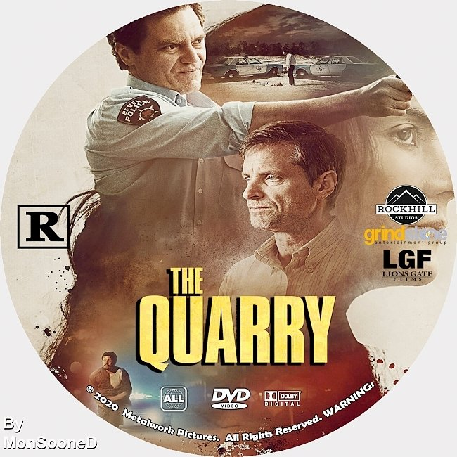 dvd cover The Quarry 2020 Dvd Disc Dvd Cover