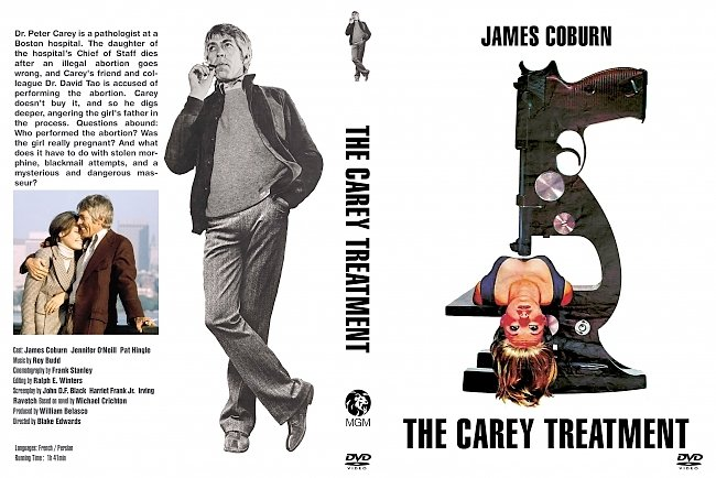 dvd cover Carey Treatment, The 1972 Dvd Cover