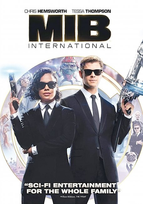 dvd cover Men In Black International 2019 R1 Front Dvd Cover