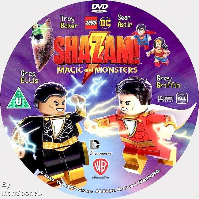 dvd cover Lego Dc_ Shazam - Magic & Monsters 2020 Dvd Disc Dvd Cover