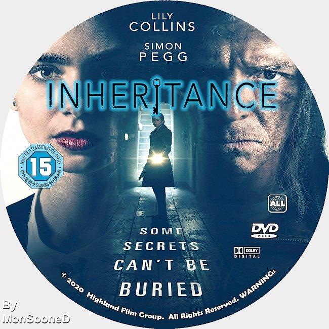 dvd cover Inheritance 2020 Dvd Disc Dvd Cover