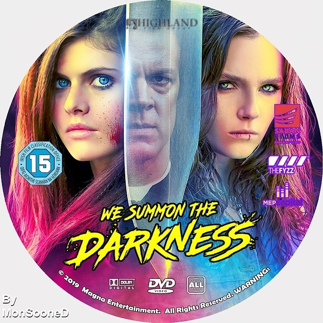 dvd cover We Summon The Darkness 2019 Dvd Disc Dvd Cover