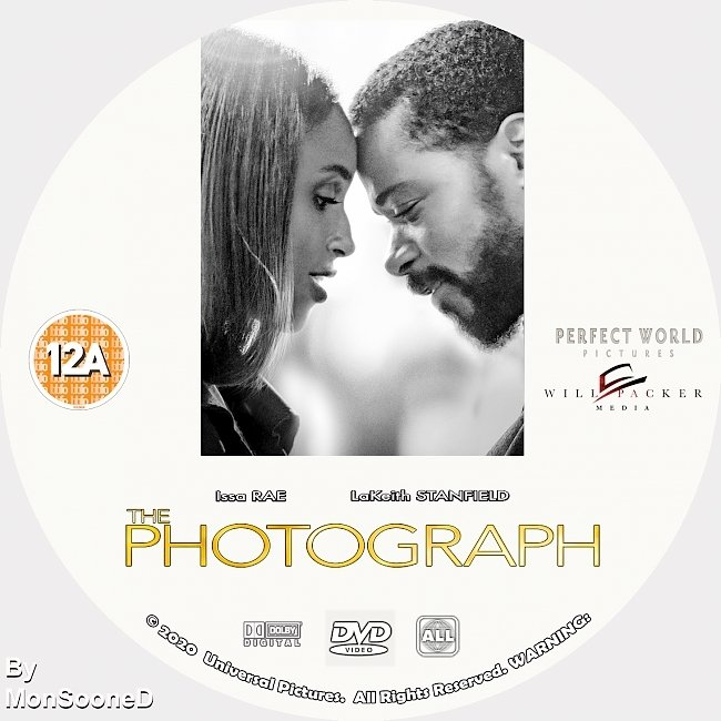 dvd cover The Photograph 2020 Dvd Disc Dvd Cover