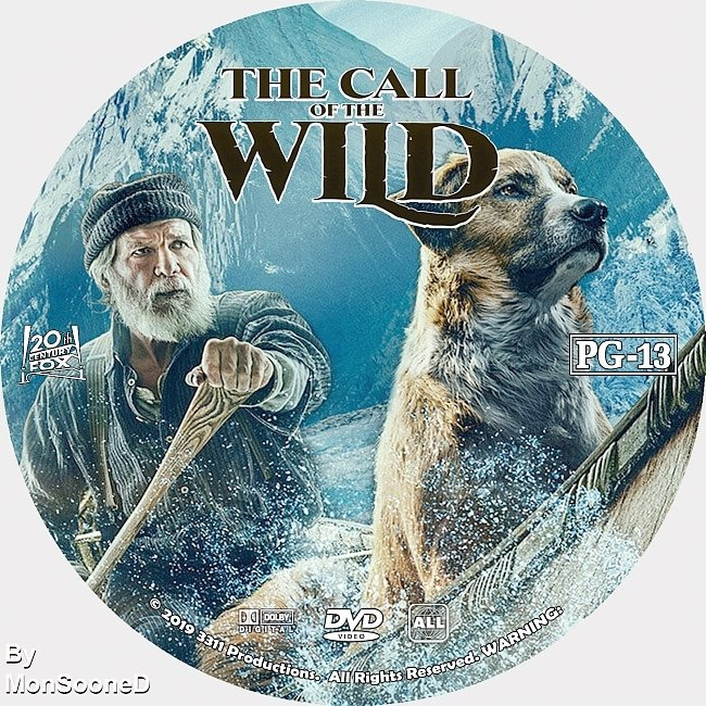 dvd cover The Call Of The Wild 2020 Dvd Disc Dvd Cover
