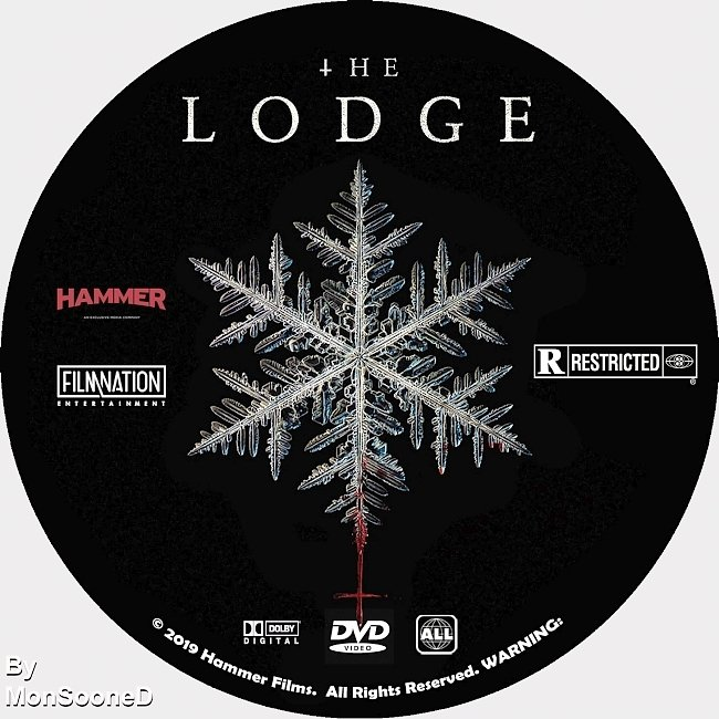 dvd cover The Lodge 2019 Dvd Disc Dvd Cover