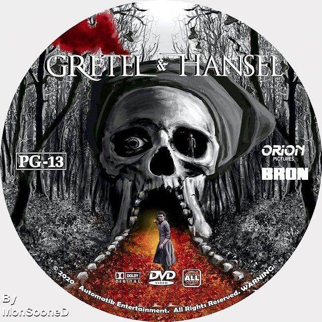 dvd cover Gretel & Hansel 2020 Dvd Disc Dvd Cover